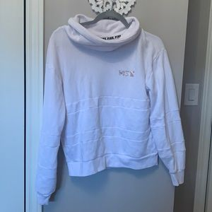 Victoria secret/pink turtle neck hoodie (size S)